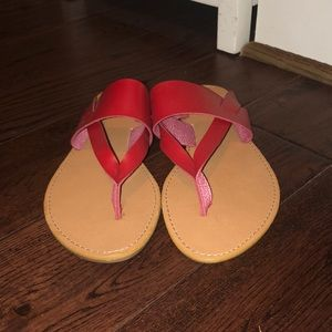 Forever 21 Red Sandals